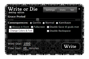 Write or Die screenshot 580x388