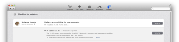 Software Update pre-Mavericks check