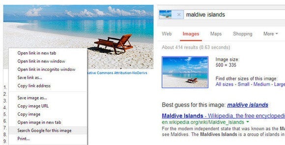 Google adds search by image to Chrome browser