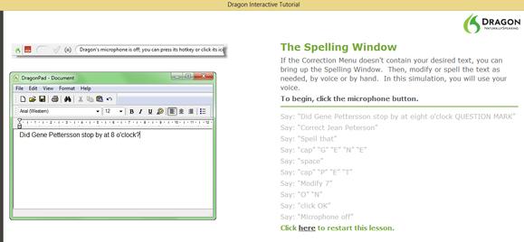 Dragon Naturally Speaking Pro screenshot