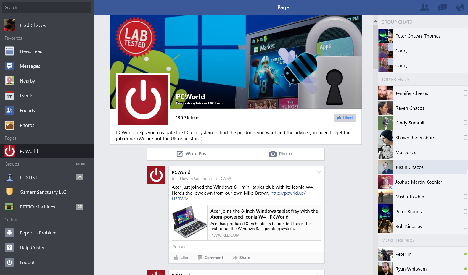 Official Facebook app (finally!) available for Windows 8 1