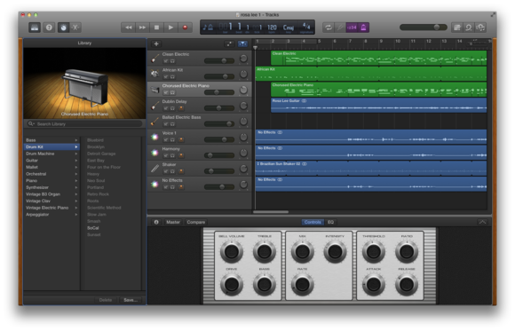 Hands-on with GarageBand for iOS and OS X | Macworld