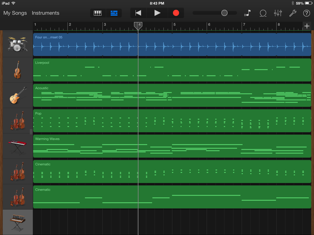 Hands On With Garageband For Ios And Os X Macworld