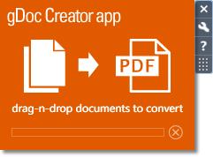 gDoc Creator desktop app