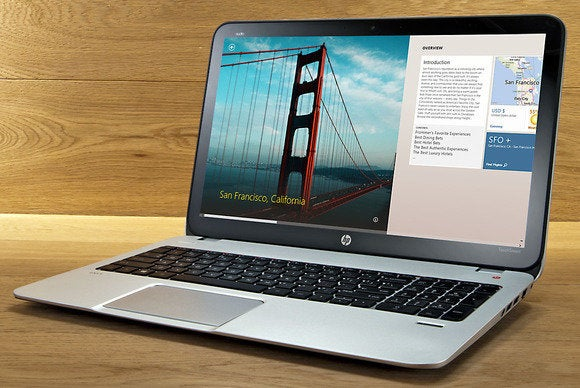 HP Envy Touchsmart 15t