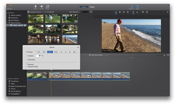 how to delete videos from imovie ios