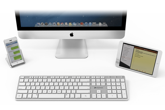 kanex multi sync keyboard review one keyboard four macs and ios devices macworld. Black Bedroom Furniture Sets. Home Design Ideas