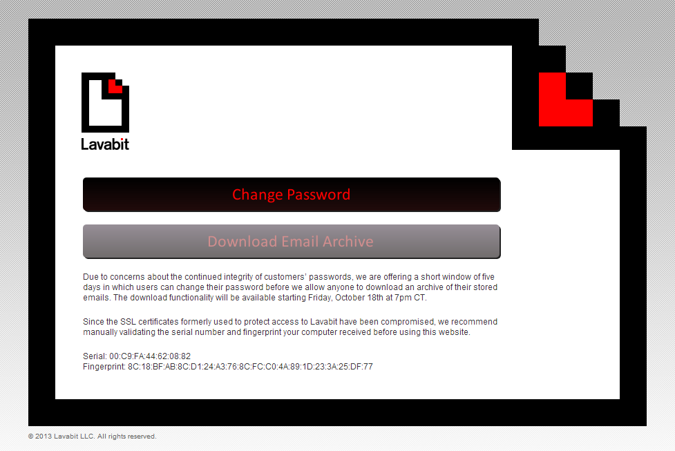 Lavabit To Reopen For 5 Days To Let Users Download Lost Emails Pcworld