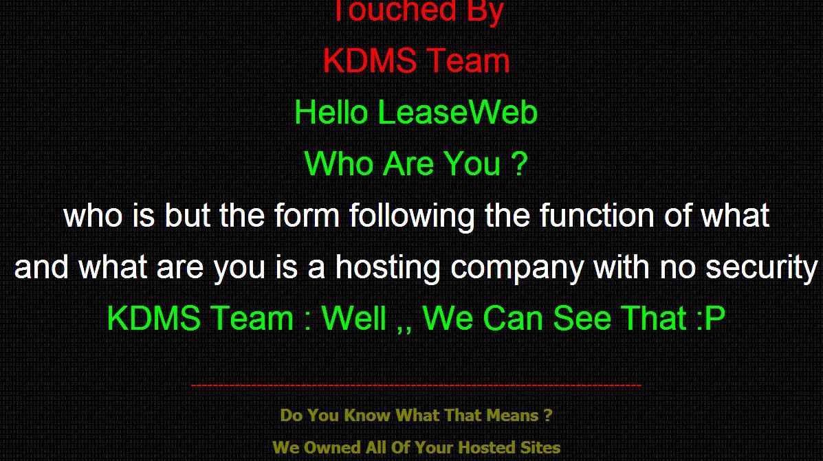 Hosting provider LeaseWeb falls victim to DNS hijacking | PCWorld