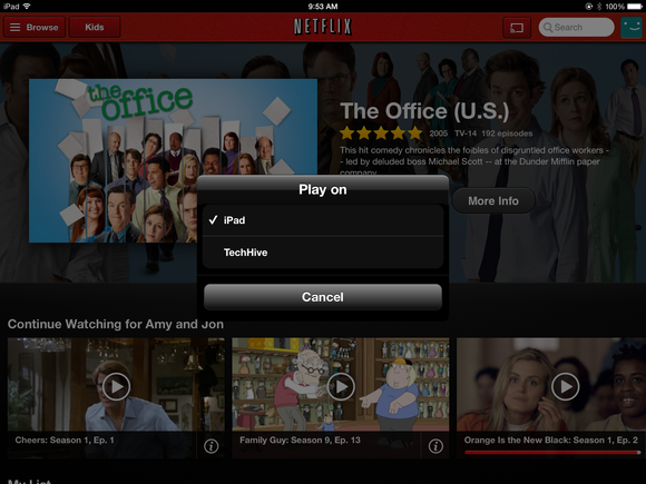Netflix app drops AirPlay support on iOS, citing support for third-party devices