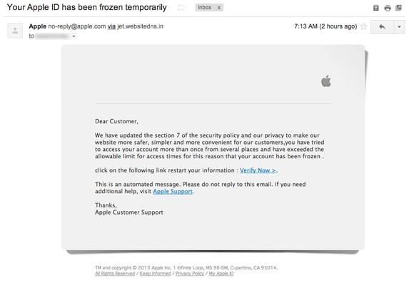 phishing Mavericks