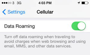How To Stop Roaming Charges On Iphone