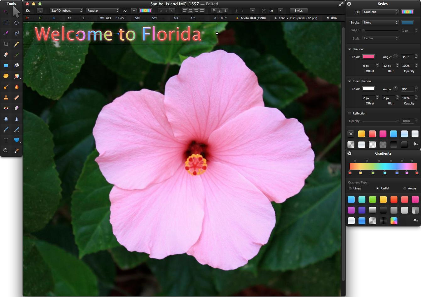 Pixelmator 3.0 packs new imaging engine in time for Mavericks