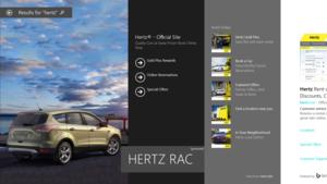 Bing hero Hertz