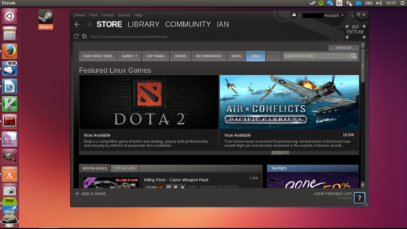 Valve Steam Os Steam for Linux tops 7...
