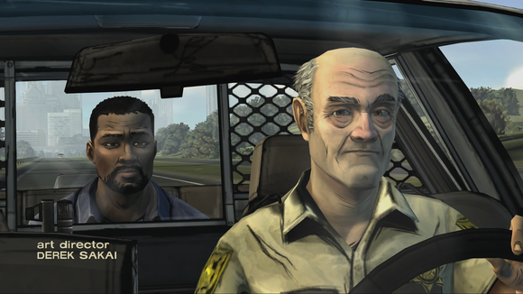 The Walking Dead game screenshot