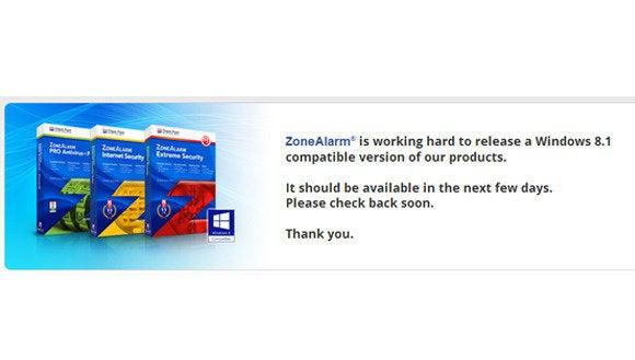PCs left unprotected as ZoneAlarm, Comcast's Norton struggle