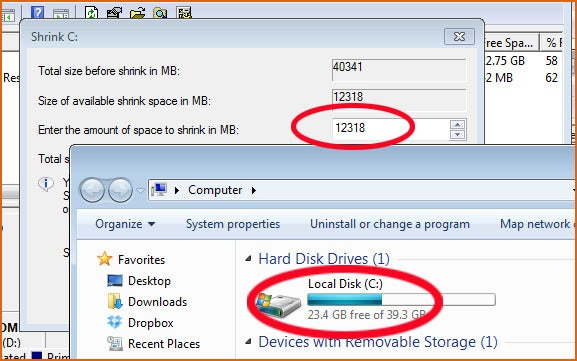 how to use the d drive on a pc