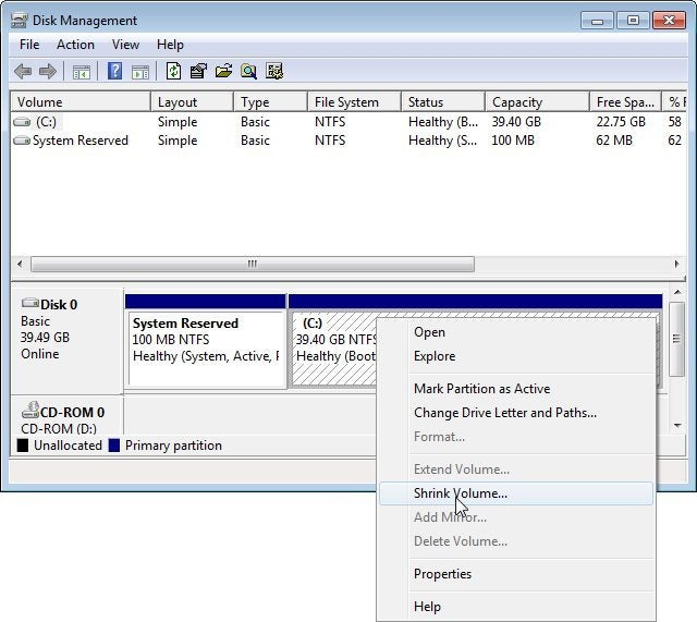 How To Partition A Hard Drive Pcworld