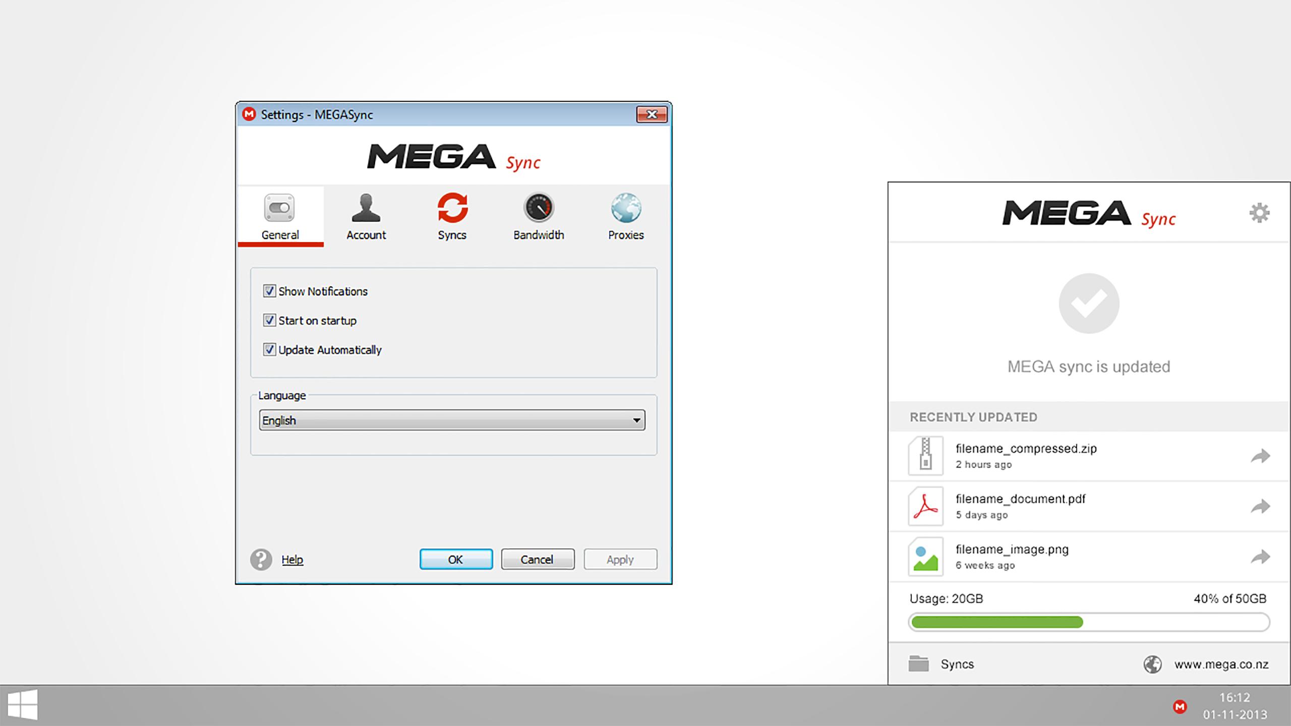 mega desktop app