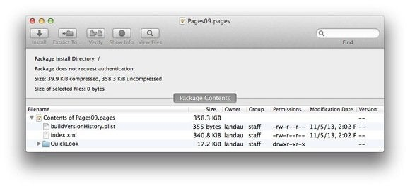 How to work with iWork's new file formats   Macworld