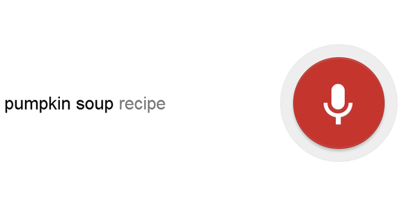 Google Voice Search screenshot