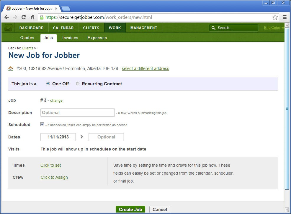 Field Service Management Solutions To Keep Your Jobs On Track - Jobber invoicing
