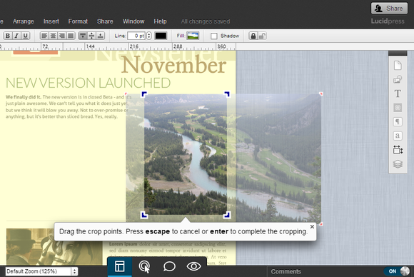 Lucidpress review: Free beta makes typesetting simple ...