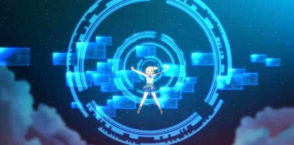 Microsoft IE anime