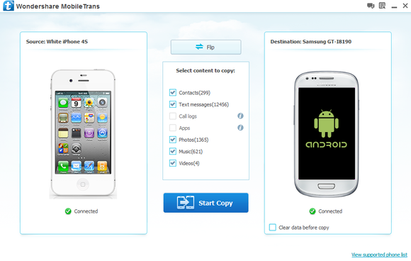 MobileTrans 3.3 screenshot