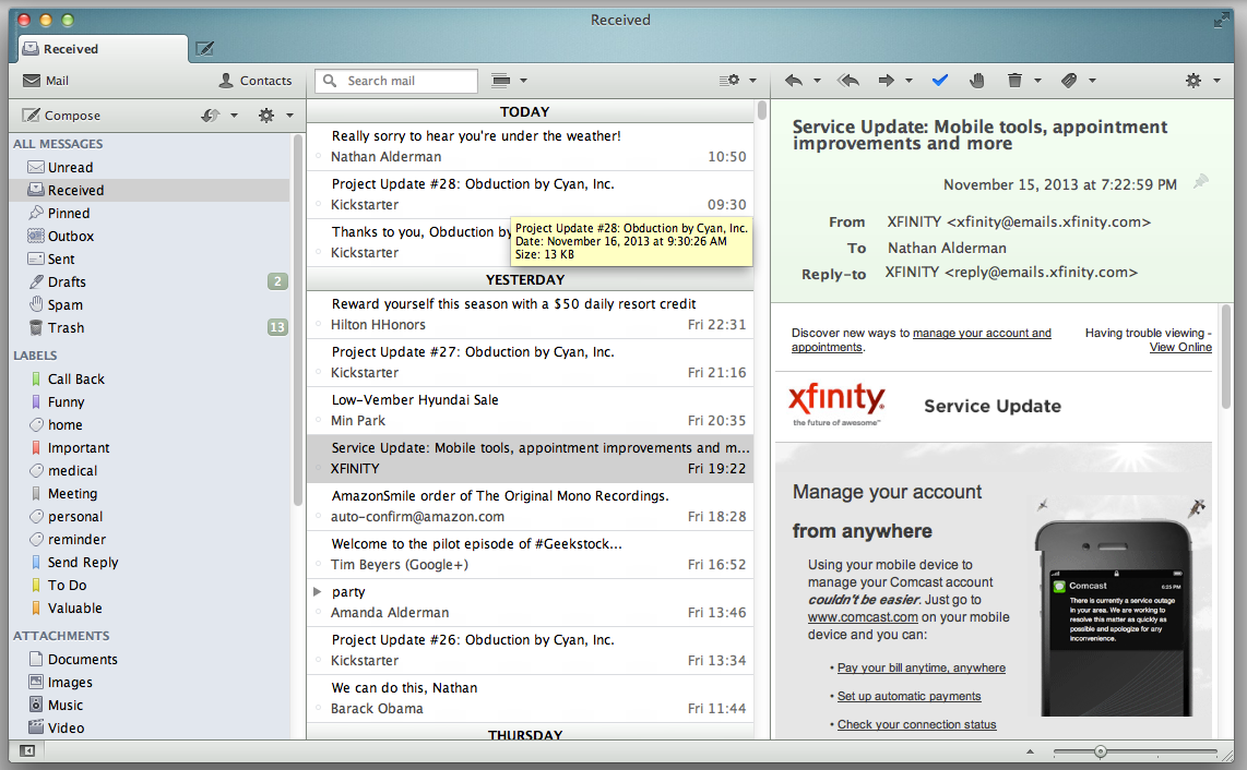 Opera Mail review: Email client is a blast from the past | Macworld
