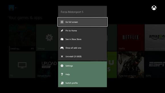 Xbox one storage