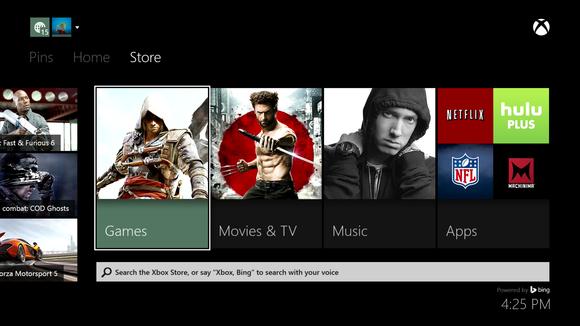 Xbox One stores