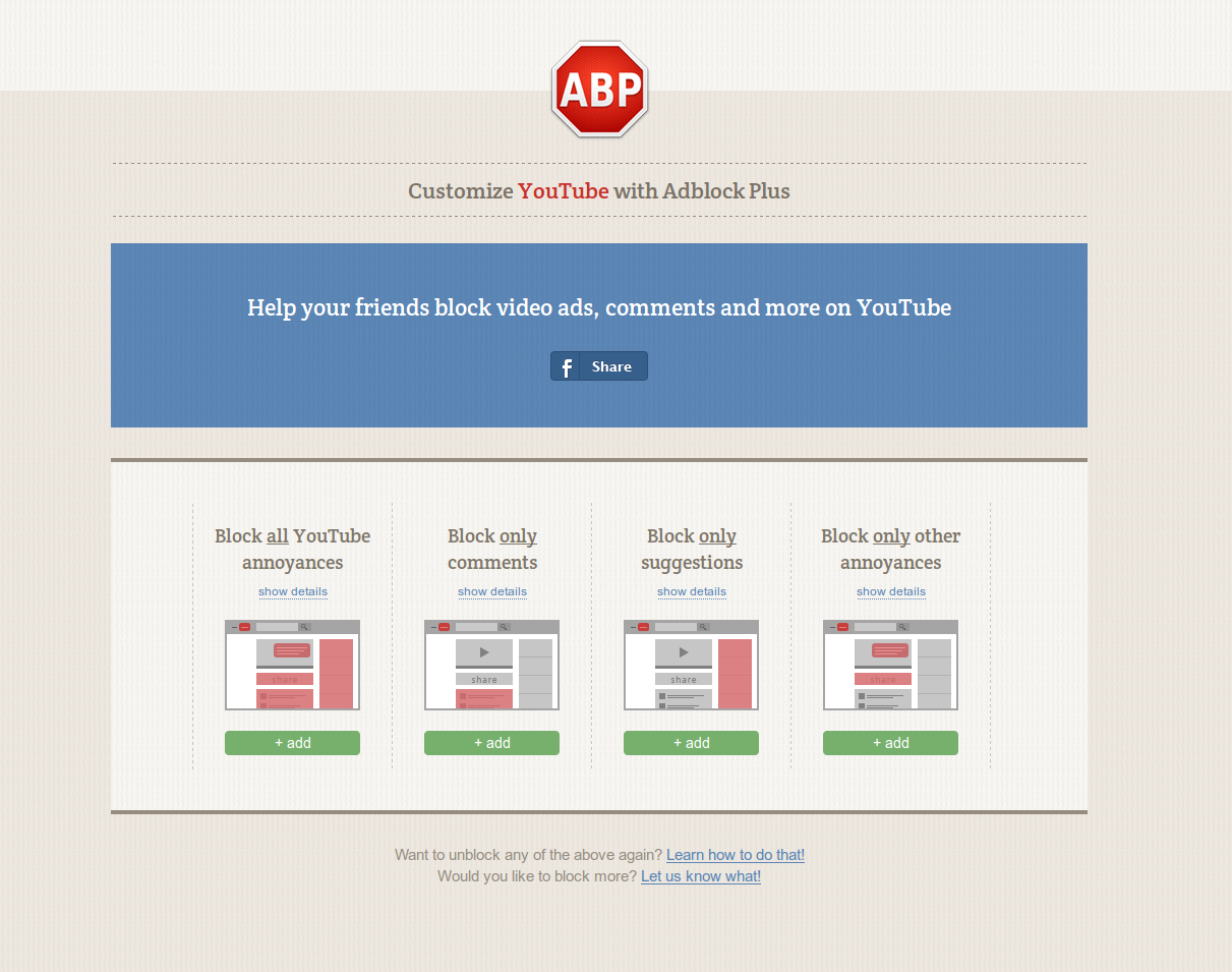 AdBlock Plus erases YouTube's clutter and contentious Google+ comments |  PCWorld