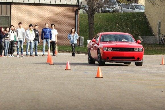 2013 dodge challenger srt classroom test