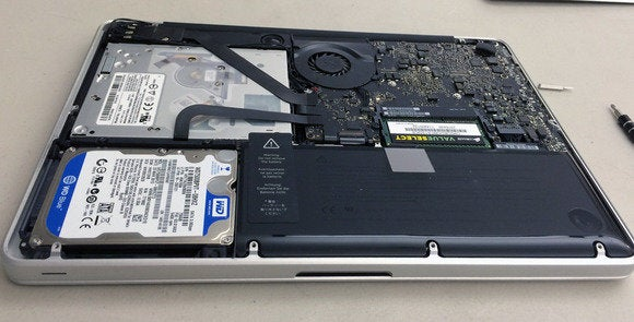 Open Unibody MacBook Pro