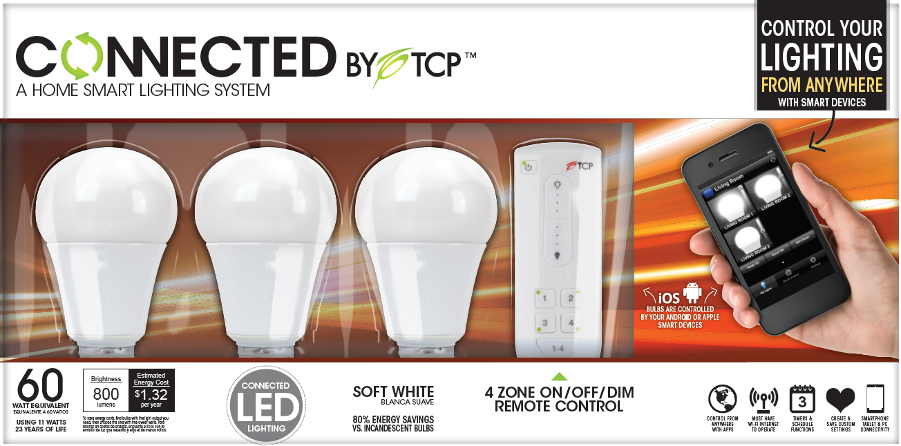 Connected by TCP review: Smart lighting 101 | TechHive