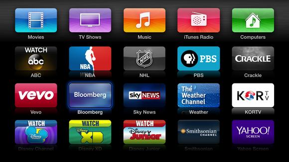 L'interfaccia di Apple Channels. Credits: techhive.com