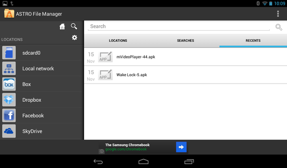 astrofilemanager android
