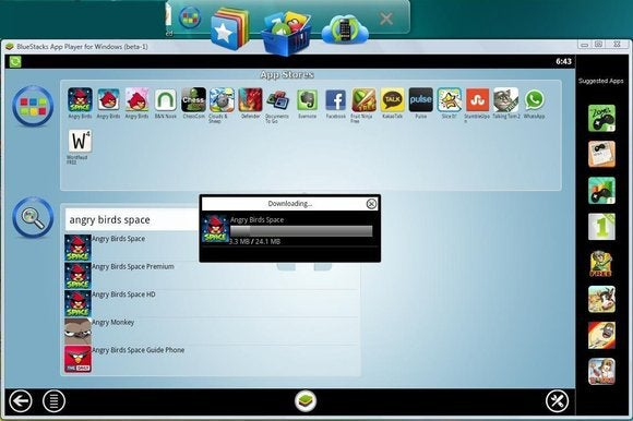 bluestacks android windows