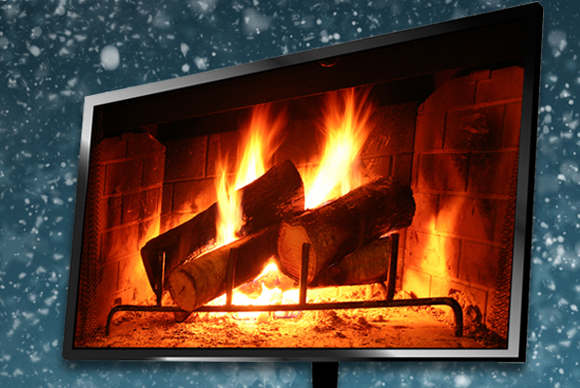 Create a digital Yule log on your HDTV | TechHive