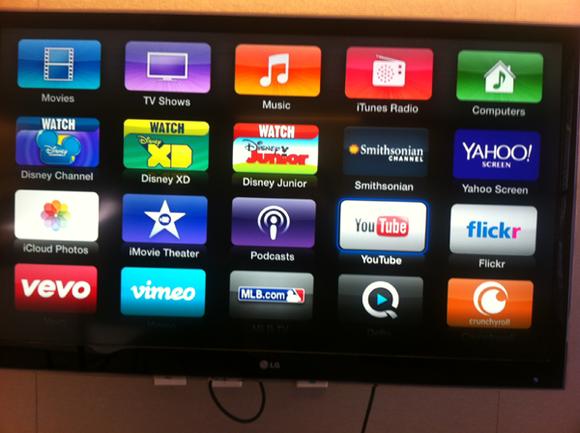 digital yule log youtube apple tv