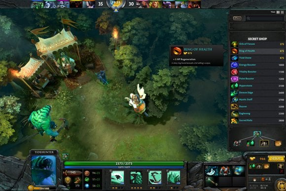 Honorable mention—Dota 2