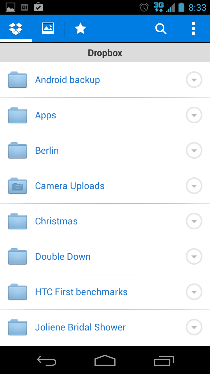 how to delete dropbox from android phone