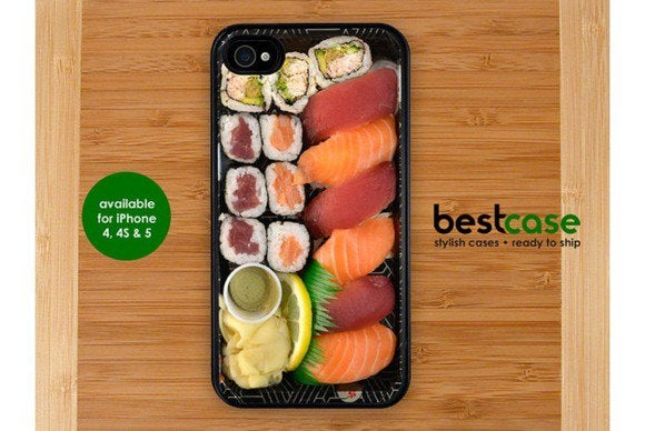 etsy sushi iphone
