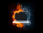 fire water laptop