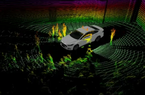 ford automated fusion hybrid research vehicle 3d map dec 2013