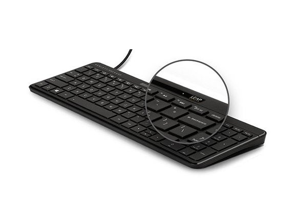 814b7ad52c8 HP's keyboard with integrated Leap Motion gesture controls to start selling  separately
