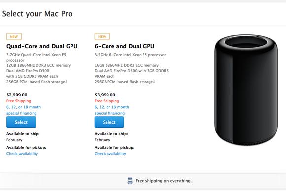 Mac Pro ordering