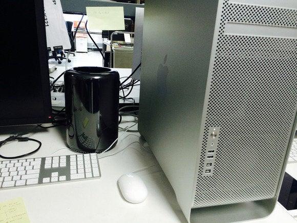 Old Mac Pro,  new Mac Pro